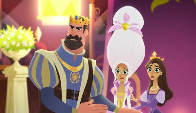 disney channel raiponce tangled before ever after