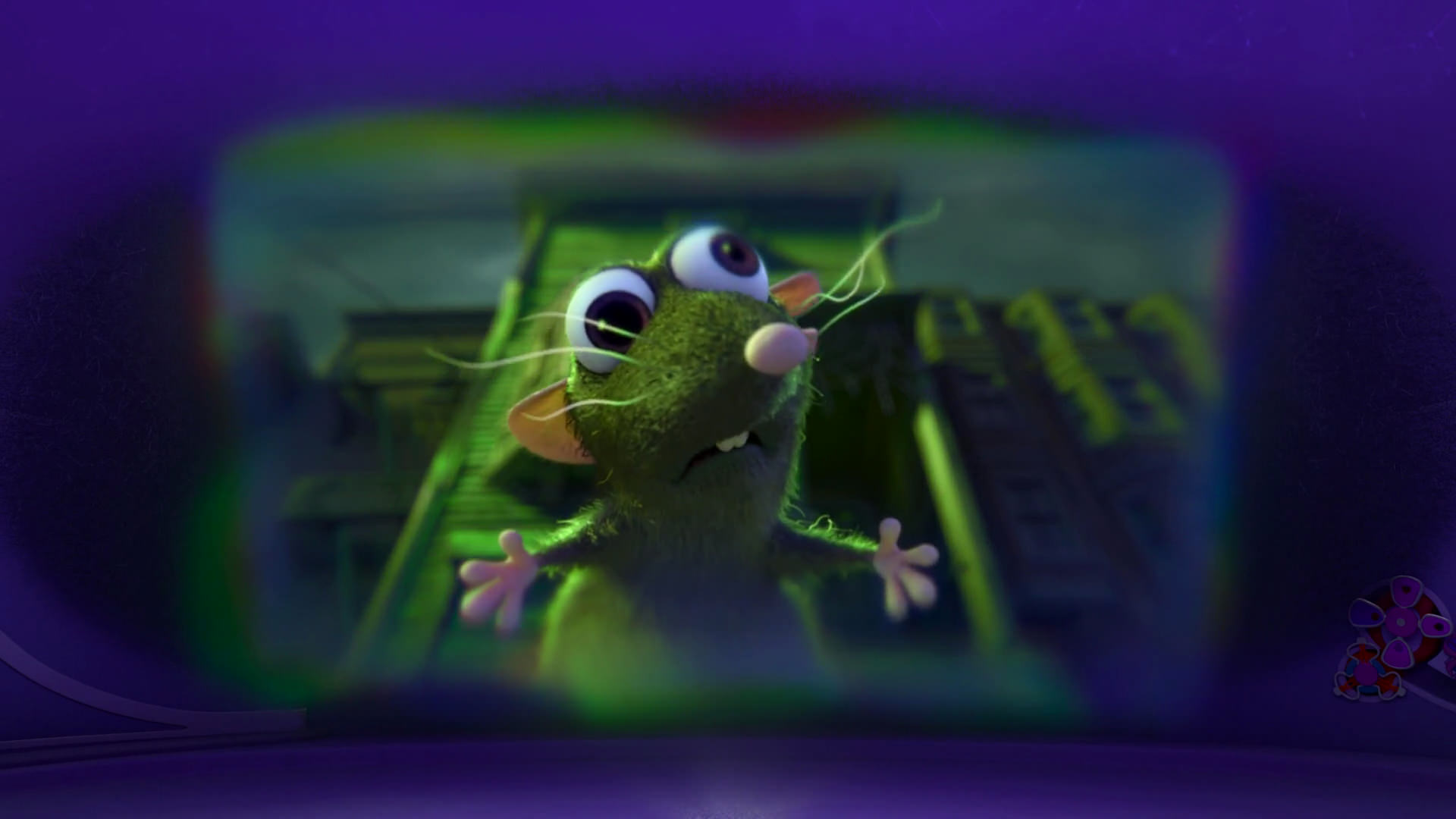 rat pixar disney character personnage vice-versa inside out