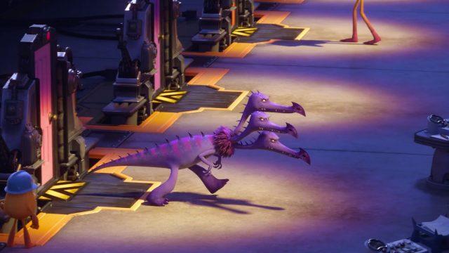 kowalski personnage character monstres academy monsters university disney pixar