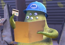 wally pixar disney personnage character monstres cie monsters inc
