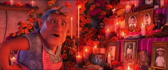 abuelita personnage character coco disney pixar