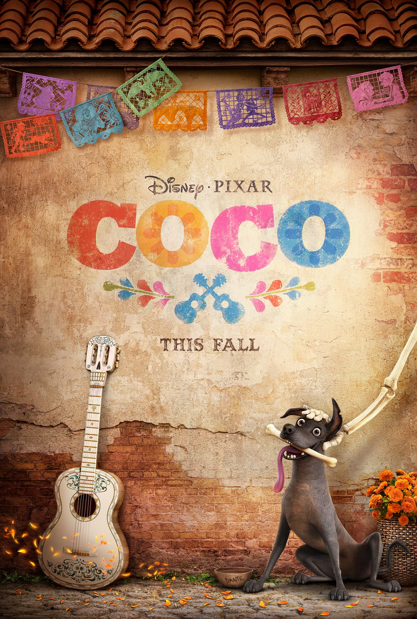 affiche poster disney pixar coco