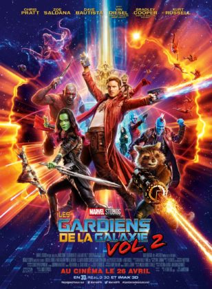 affiche poster gardiens galaxie gardians vol 2 disney marvel