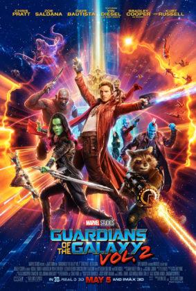 affiche poster gardiens de la galaxie 2 guardians disney marvel
