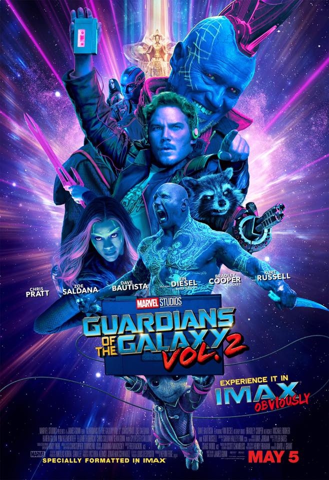 affiche poster gardiens guardians galaxie galaxy disney marvel