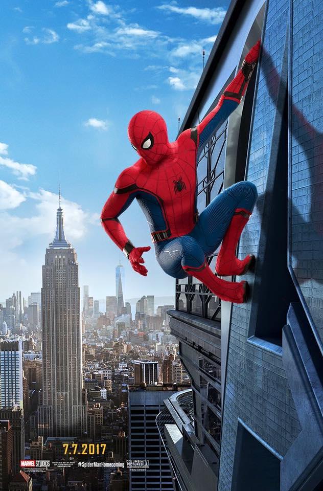 affiche poster disney marvel spider man homecoming