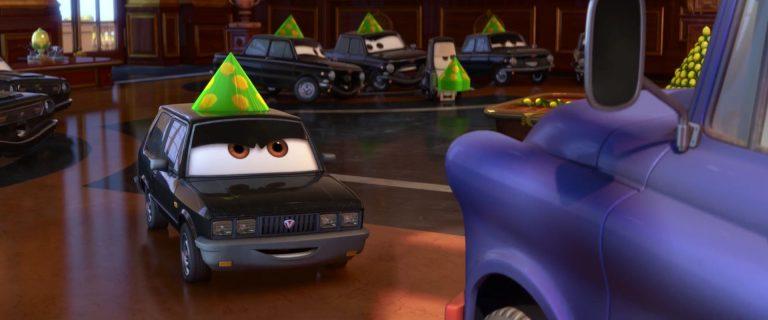 """Alexander Hugo, personnage dans """"Cars 2""""."""