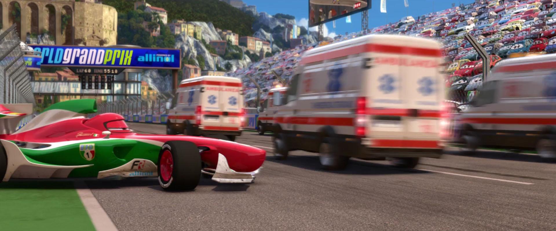 Alfredo Personnage Dans Cars 2 Pixar Planet Fr