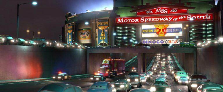 "Axle Accelerator, personnage dans ""Cars""."
