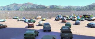 benny brakedrum  personnage character pixar disney cars