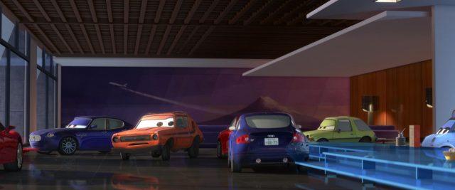 bindo personnage character cars disney pixar