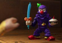 bozu clown ninja personnage character pixar disney toy story toons mini buzz small fry