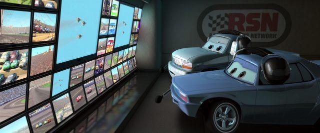 brian fee personnage character cars disney pixar