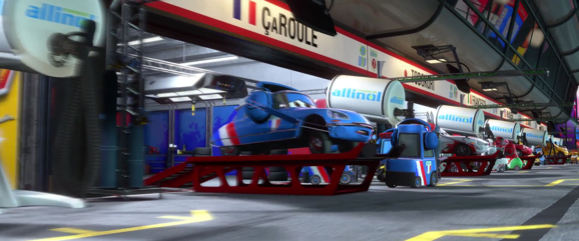 bruno motoreau personnage character pixar disney cars 2