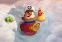 capitaine mousse suds personnage character pixar disney toy story toons rex roi fête partysaurus