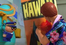 capitaine zip personnage character pixar disney toy story toons hawai vacances