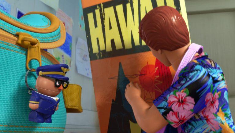 "Capitaine Zip, personnage dans ""Toy Story Toons : Vacances à Hawaï""."