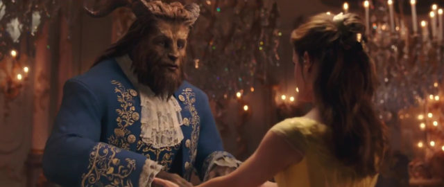 capture clip beauty beast belle bête disney