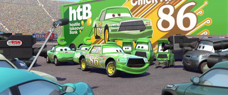 "Carl ""Studs"" McGirdle, personnage dans ""Cars""."