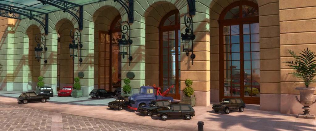 carlo maserati   personnage character pixar disney cars 2