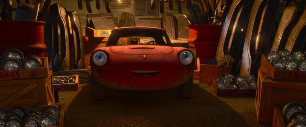 celine dephare personnage character pixar disney cars 2