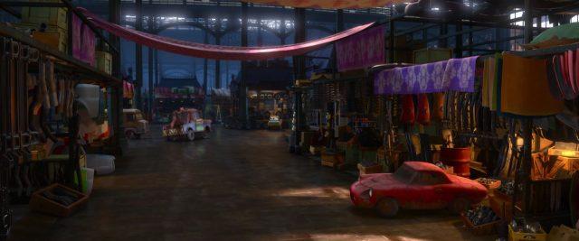 celine dephare personnage character cars disney pixar
