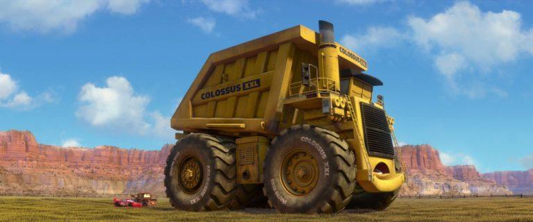 "Colossus XXL, personnage dans ""Cars 2""."