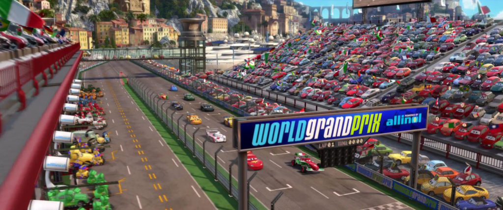 cruz besouro  personnage character pixar disney cars 2