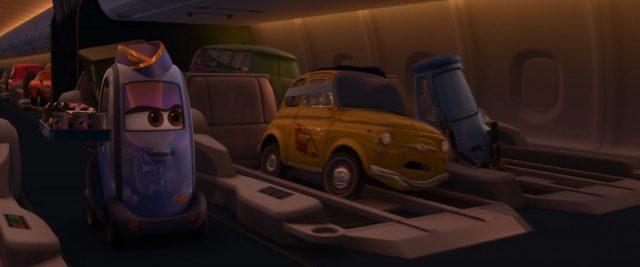 daniella muffler personnage character cars disney pixar