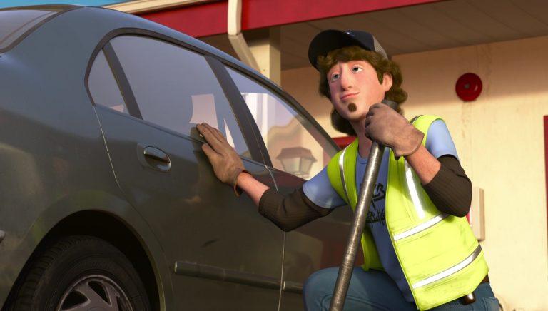"""Le dépanneur, personnage dans """"Toy Story : Angoisse au motel""""."""