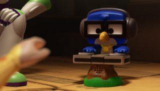 djay dj blu  personnage character pixar disney toy story toons mini buzz small fry