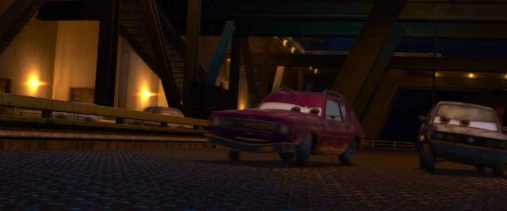don crumlin personnage character pixar disney cars 2