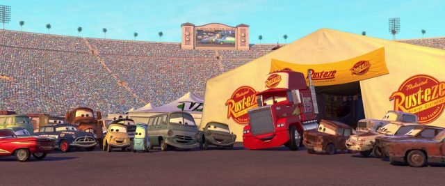 donna pits personnage character cars disney pixar