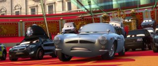doug speedcheck  personnage character pixar disney cars 2