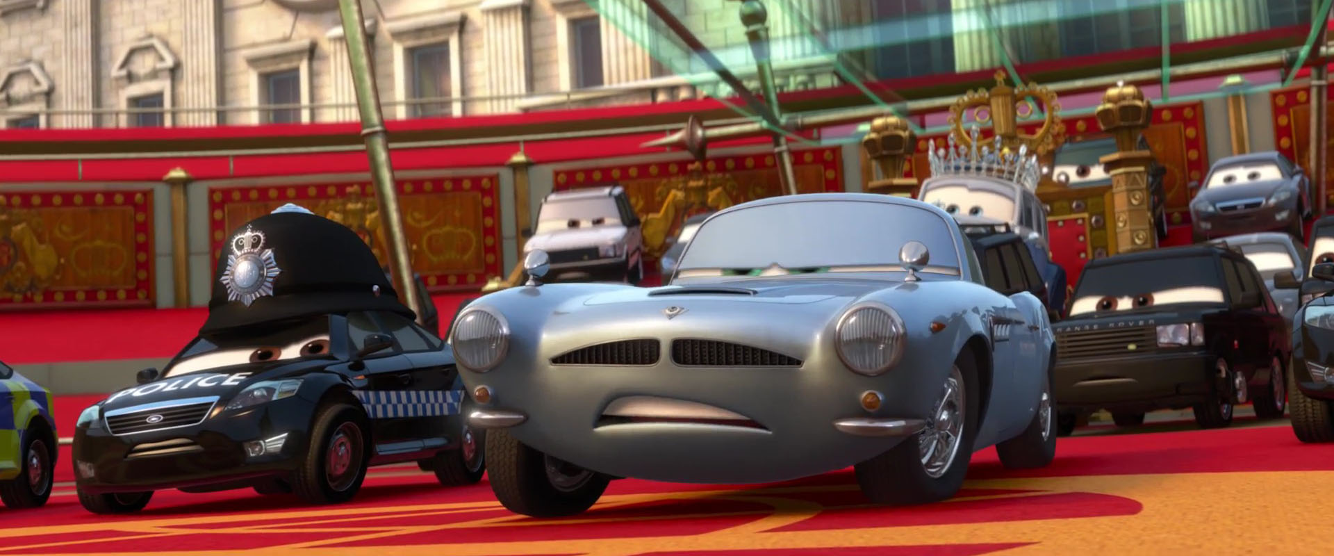 doug speedcheck personnage character pixar disney cars 2
