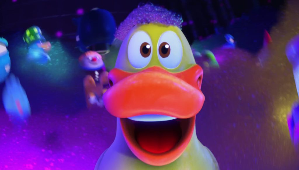 ducky chuck personnage character pixar disney toy story toons rex roi fête partysaurus