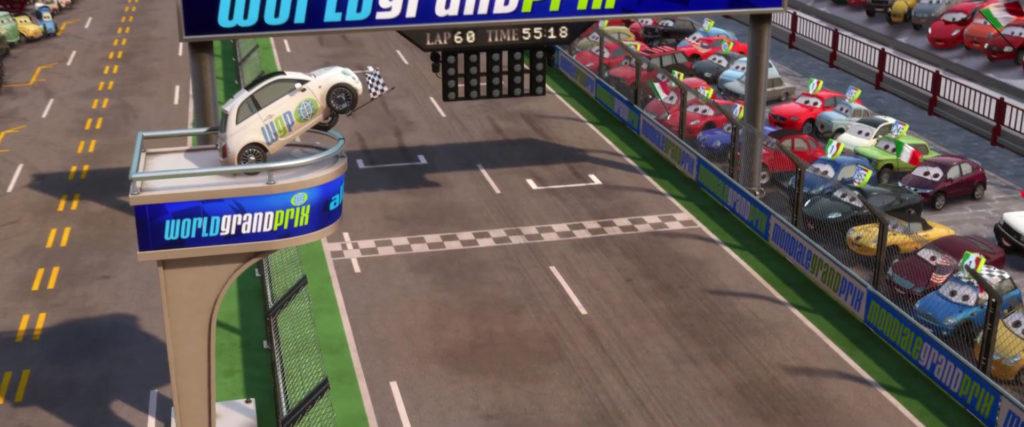 erik laneley   personnage character pixar disney cars 2