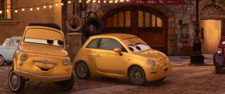 """Franca, personnage dans """"Cars 2""""."""