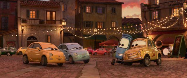 francesca personnage character cars disney pixar