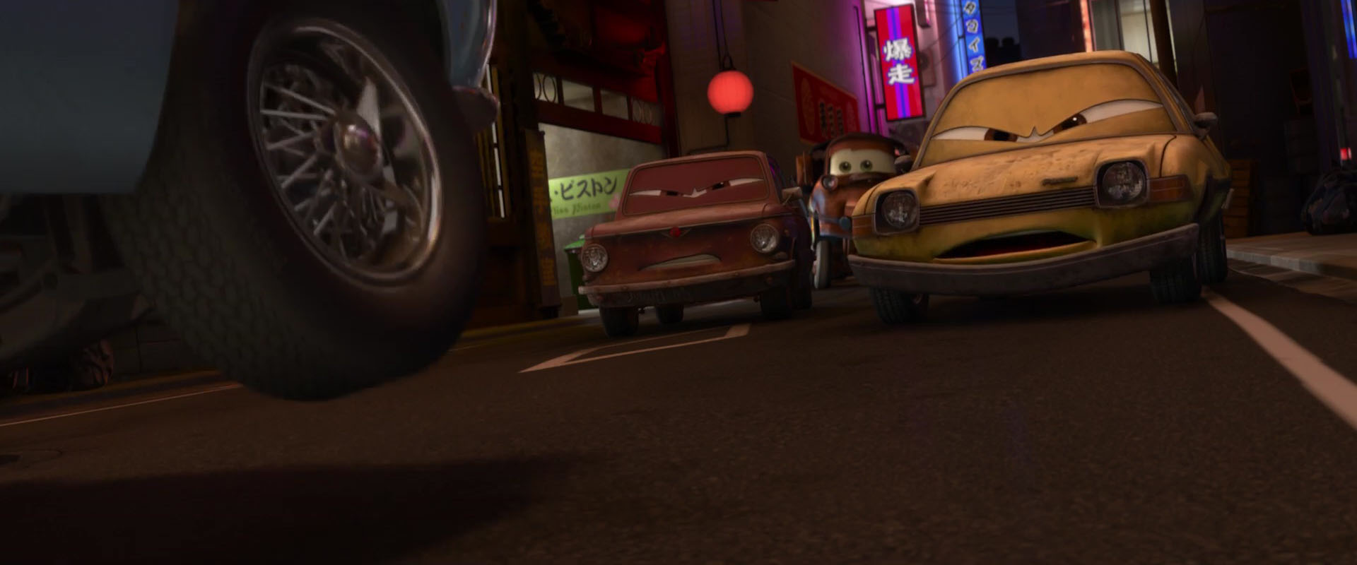 fred pacer personnage character pixar disney cars 2