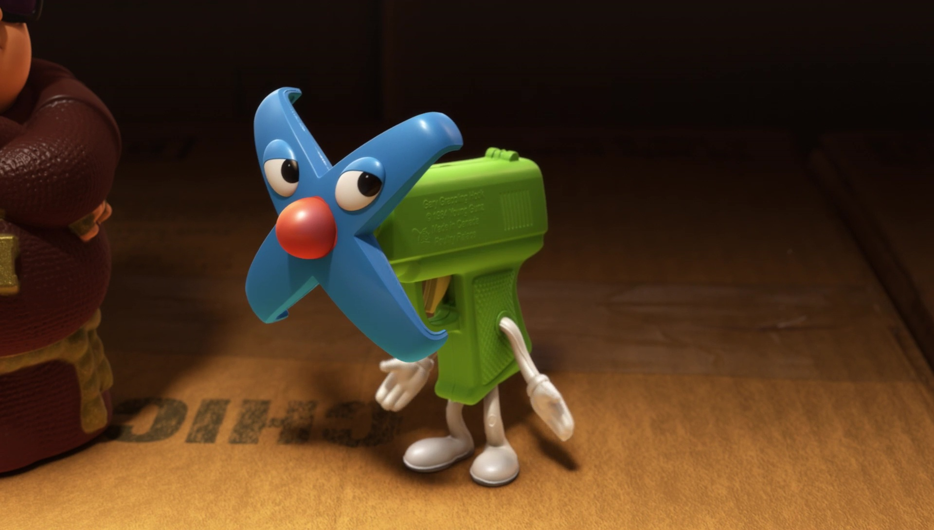 gary lance grappin Grappling Hook personnage character pixar disney toy story toons mini buzz small fry