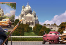 geartrude personnage character pixar disney cars 2