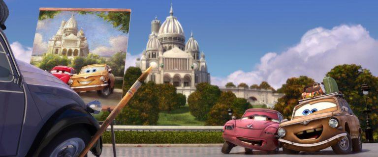 "Geartrude, personnage dans ""Cars 2""."