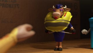 génisse air beef stewardess  personnage character pixar disney toy story toons mini buzz small fry