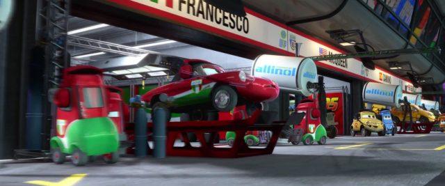 giuseppe motorosi  personnage character cars disney pixar