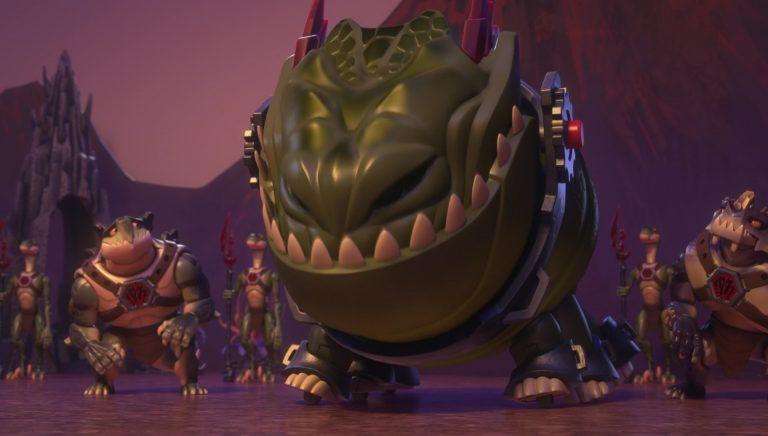 """Goliathon, personnage dans """"Toy Story : Hors du temps""""."""