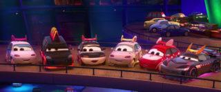 harumi personnage character pixar disney cars 2