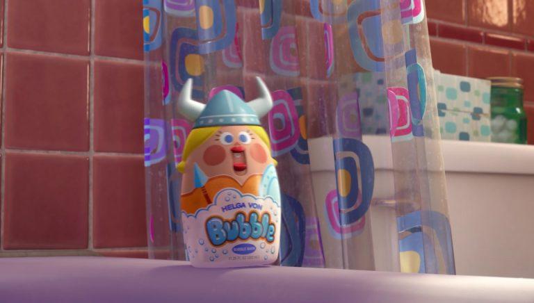 """Helga Von Bubble, personnage dans """"Toy Story Toons : Rex, le roi de la fête""""."""