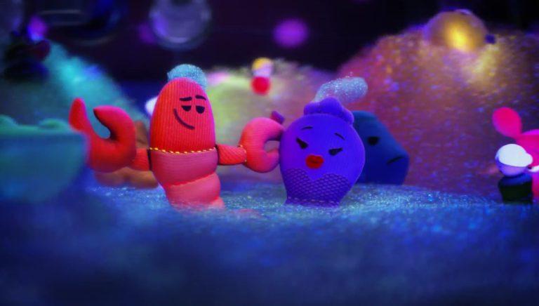 """Le homard, personnage dans """"Toy Story Toons : Rex, le roi de la fête""""."""