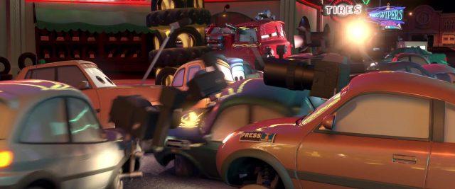 hooman personnage character cars disney pixar
